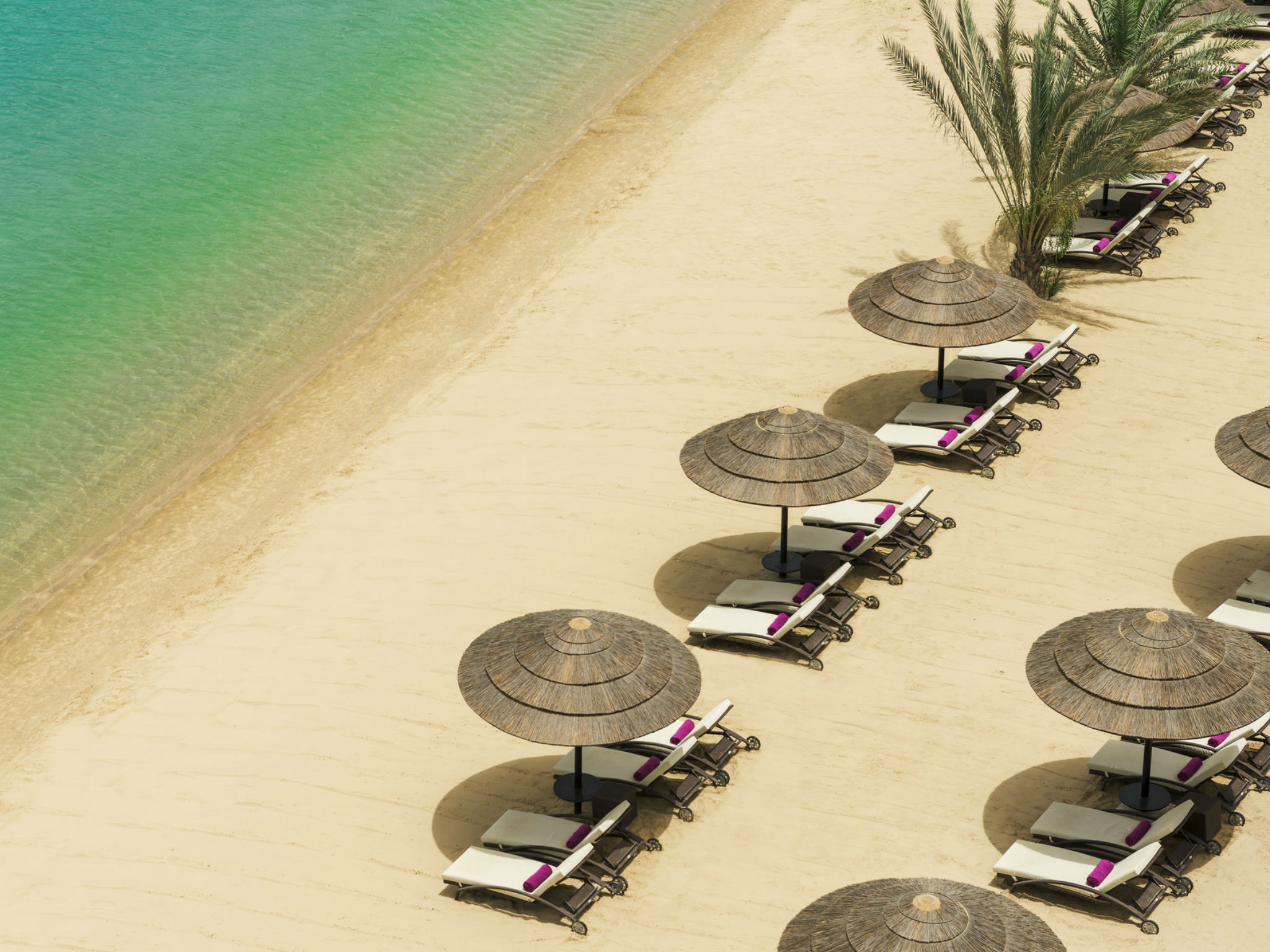 Beach at Le Meridien Abu Dhabi